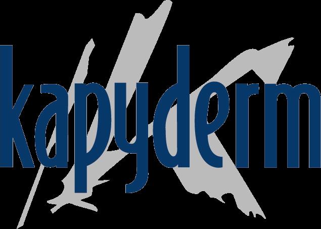 Logotipo kapyderm peluquería