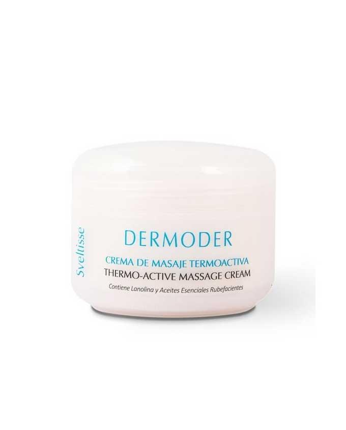 Crema de masaje termoactiva 500ml dermoder