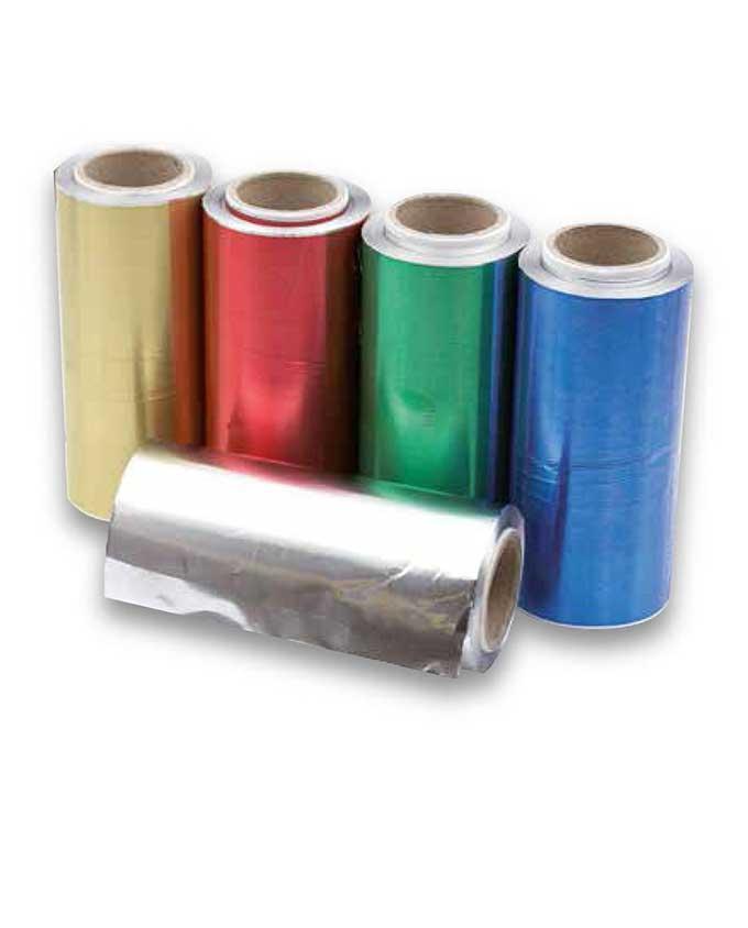 Papel aluminio para mechas